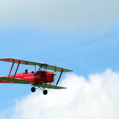 Mick's one third scale Tiger Moth